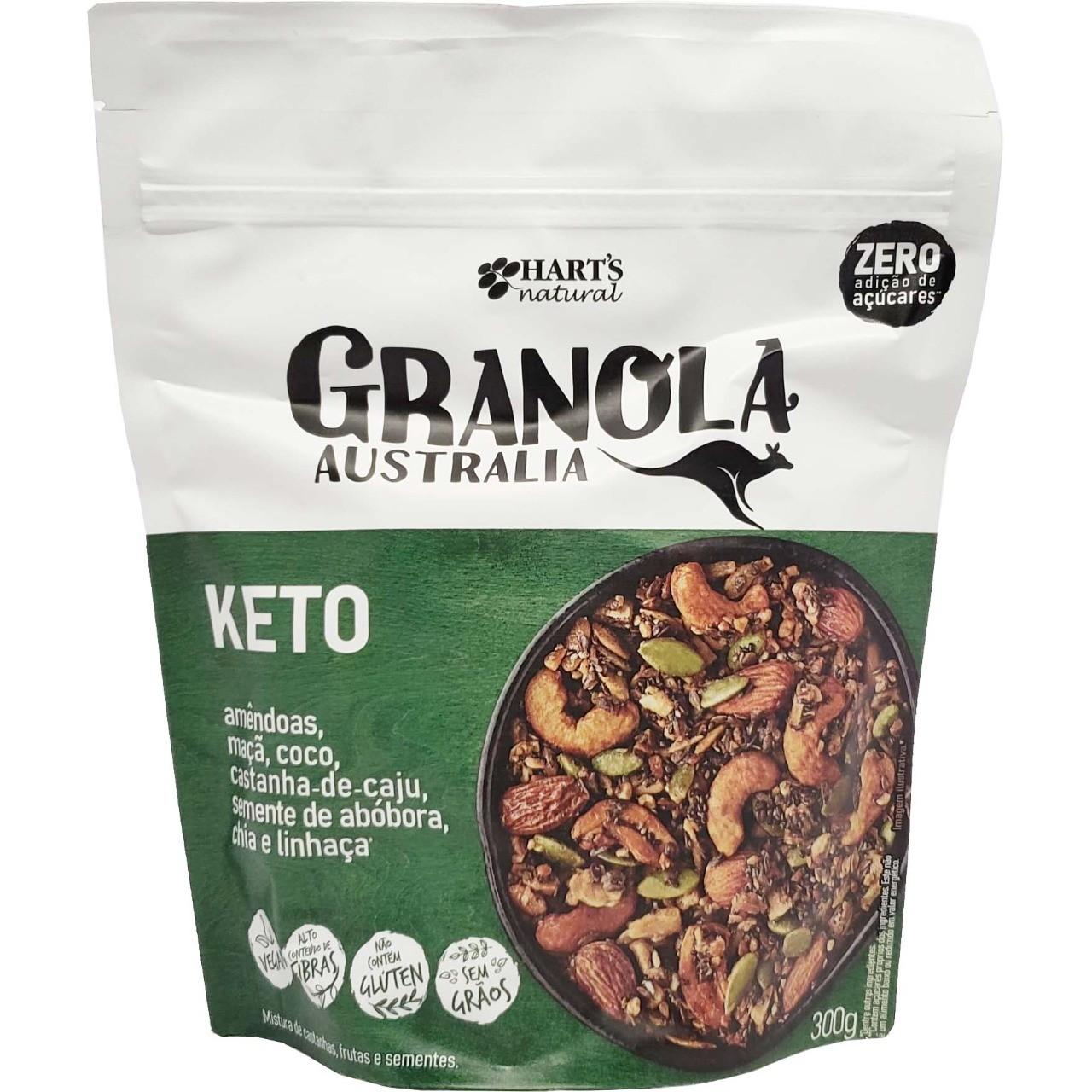 Granola Australia Keto Hart´s Natural - 300g -