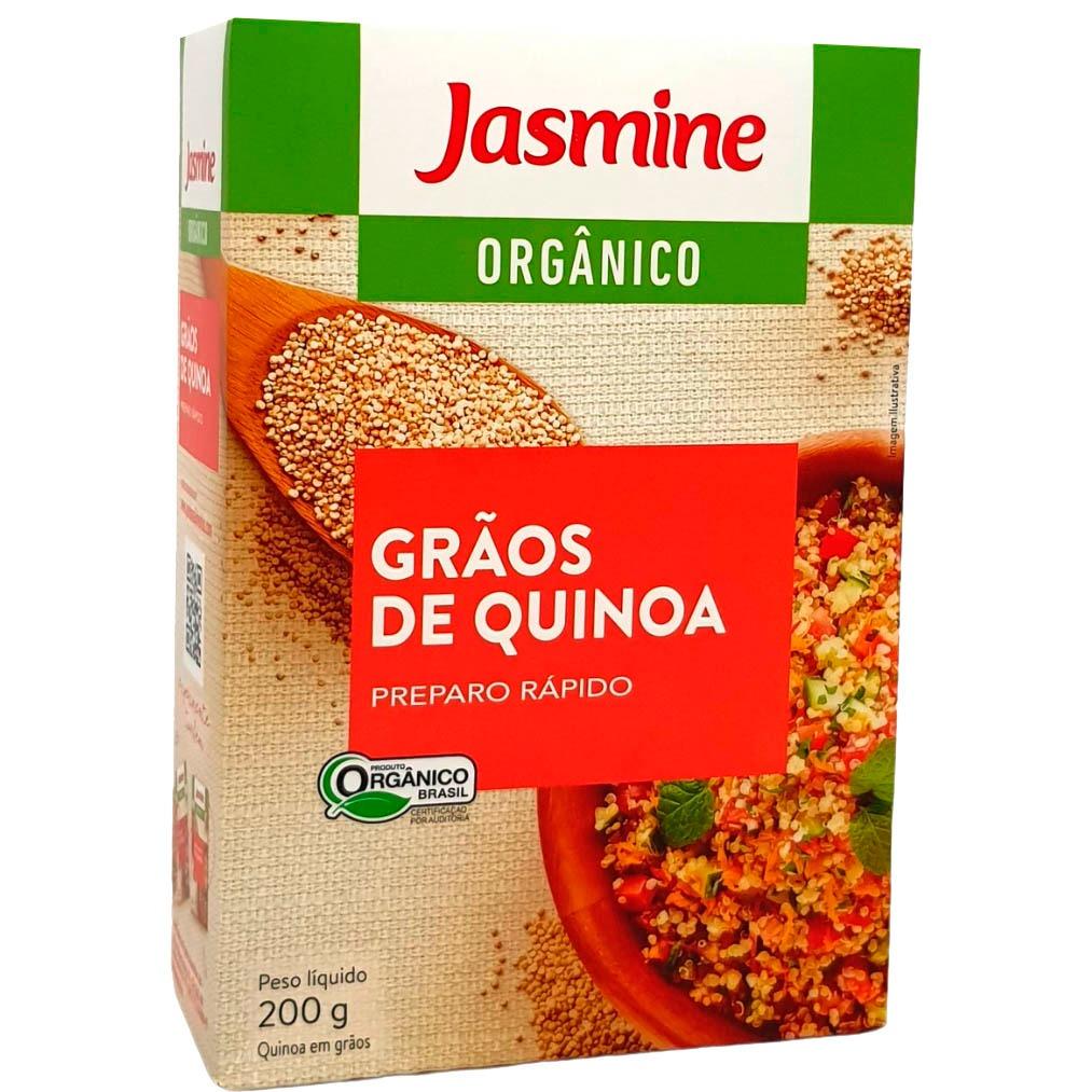 Grãos de Quinoa Orgânico Jasmine - 200g -