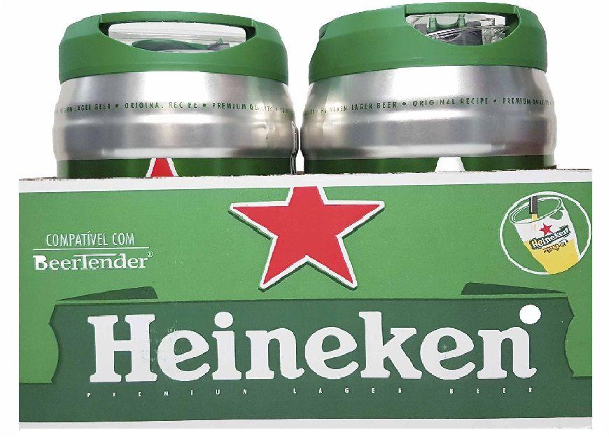 Kit 2 Cervejas Heineken Lager Premium 5L