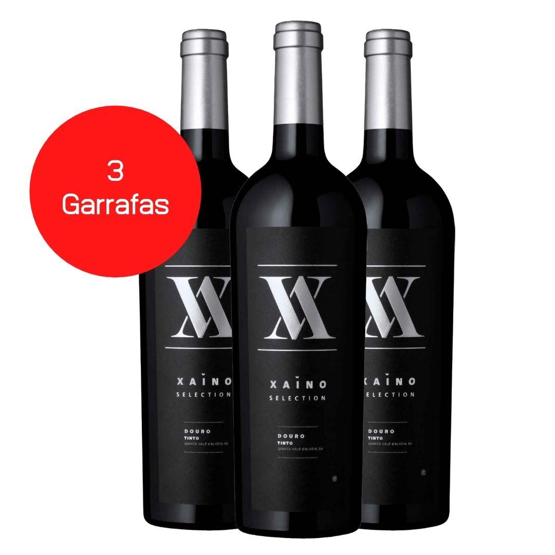Kit 3 Vinhos Tintos Xaino Selection