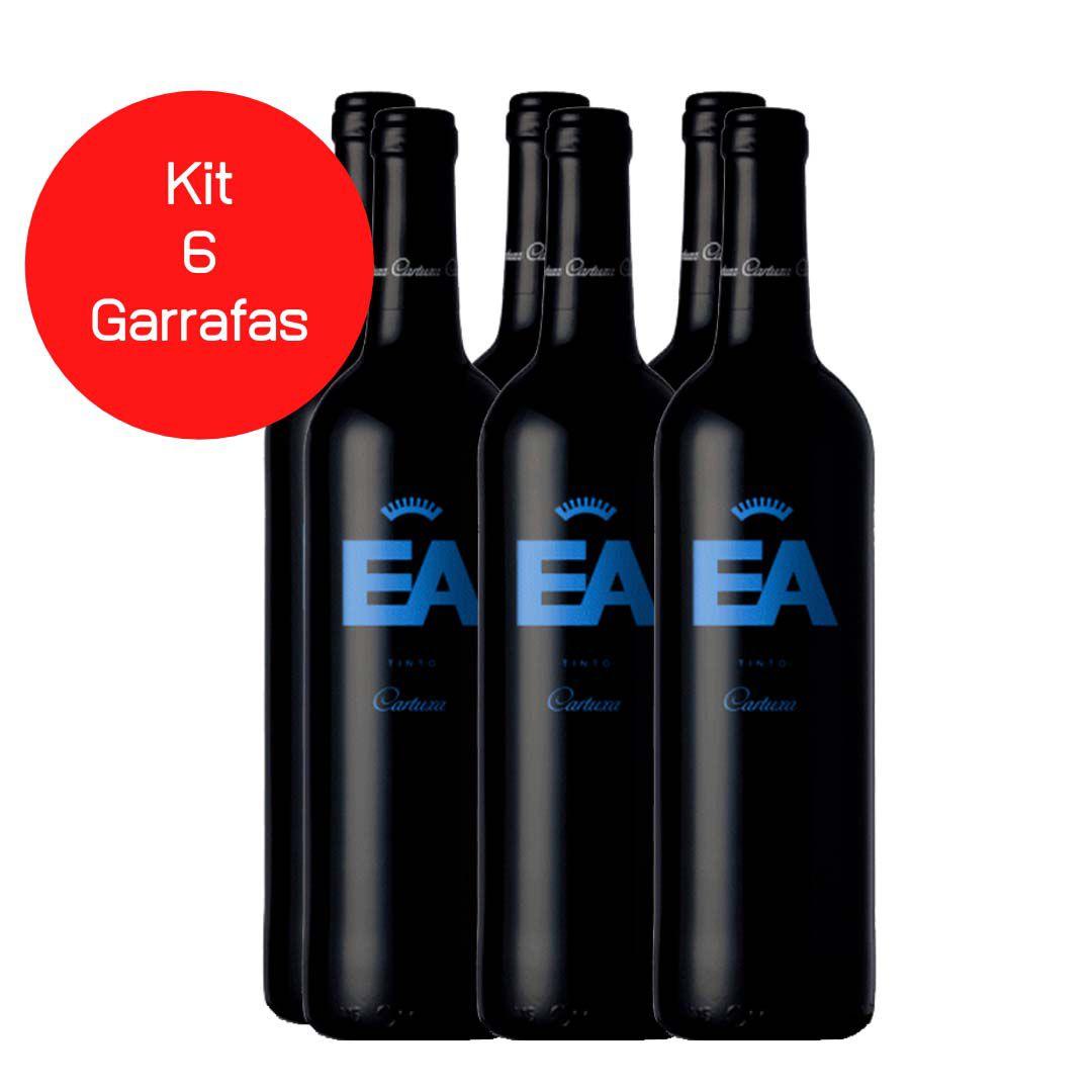 Kit 6 Vinhos EA Cartuxa Tinto - 750ml -
