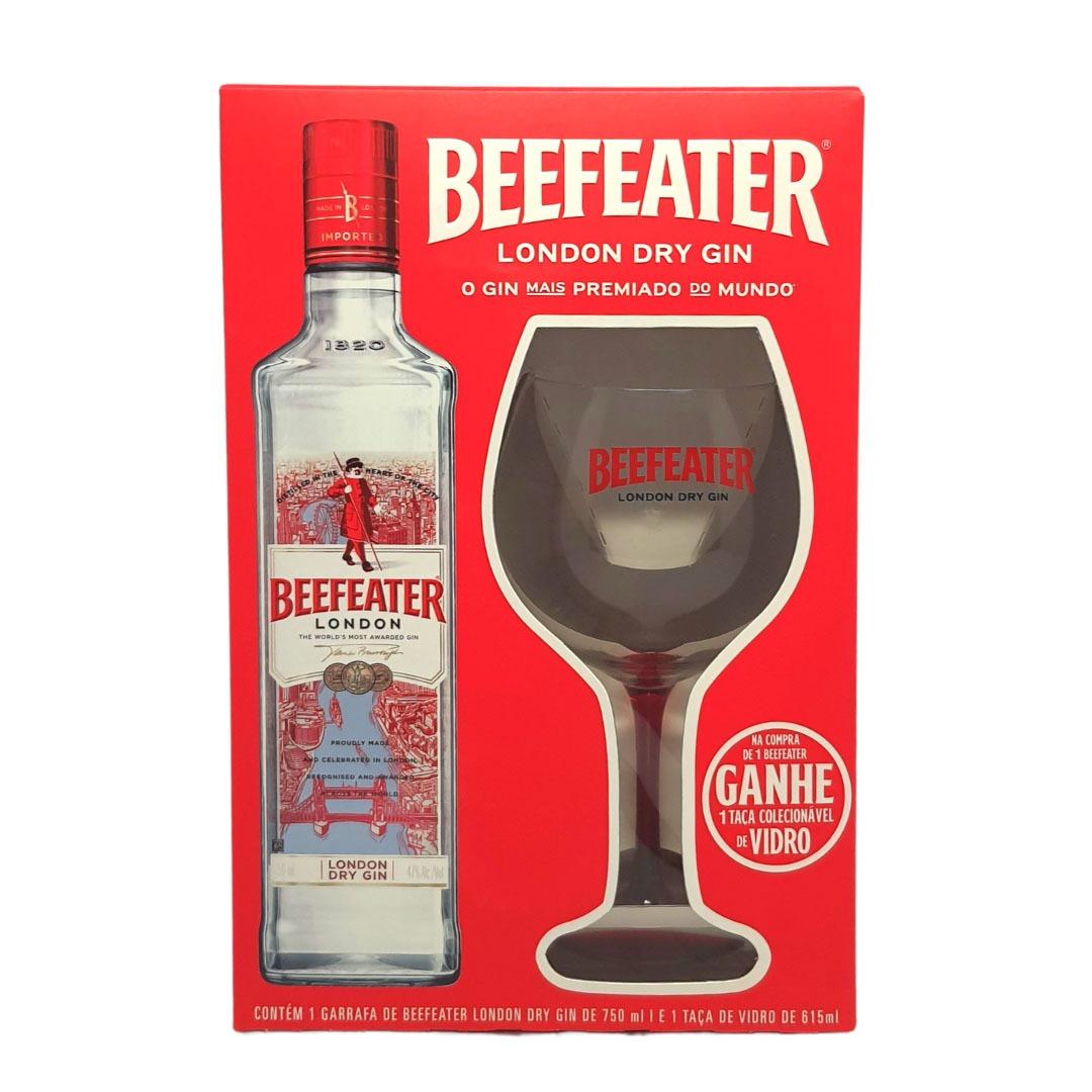 Kit Beeffeater London Dry Gin + Taça Colecionável