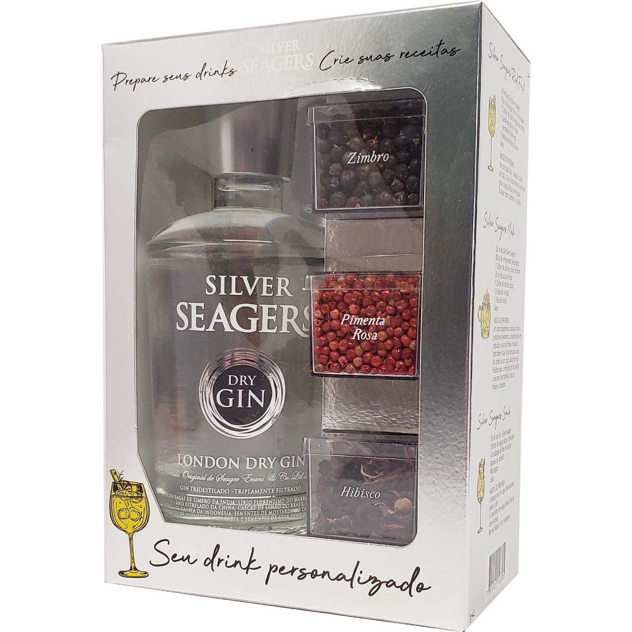 Kit Gin Silver Seagers