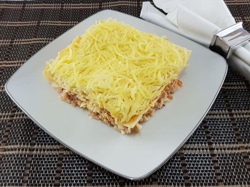 Kit Lasanha de presunto e queijo Nova Benta 600g + Vinho Brancott Estate Sauvignon Blanc 750ml