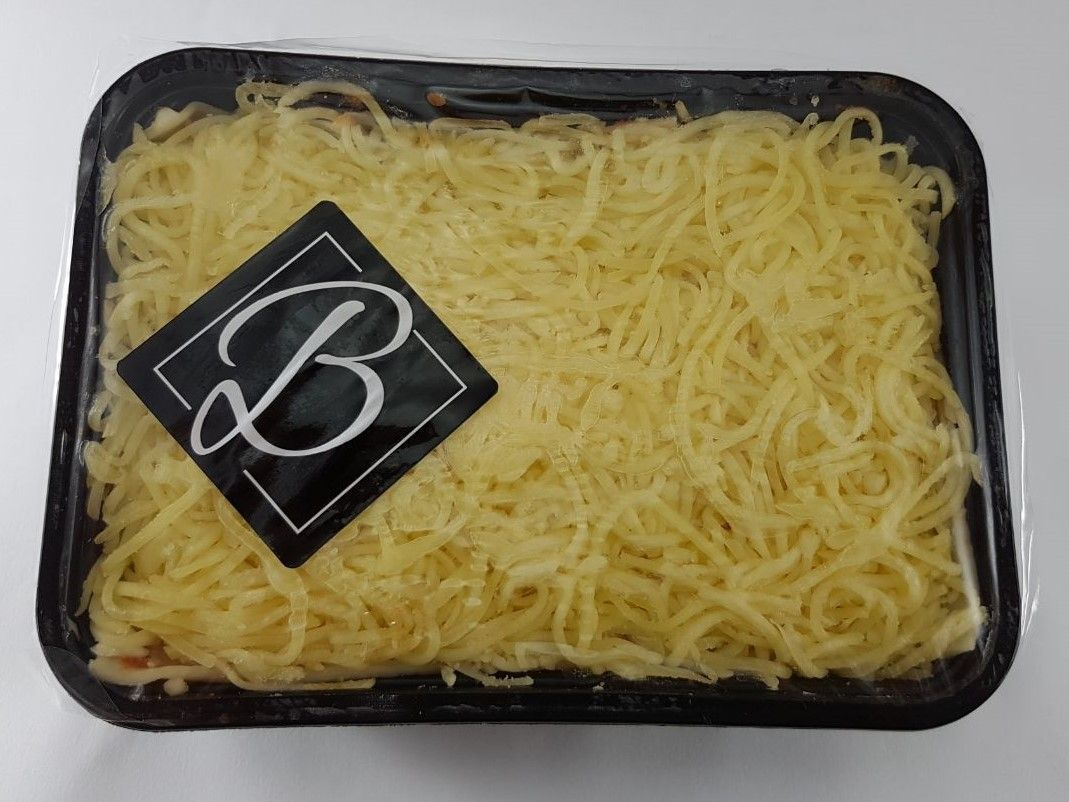 Kit Lasanha de presunto e queijo Nova Benta 600g + Vinho Obsession Symphony Ironstone Branco 750ml