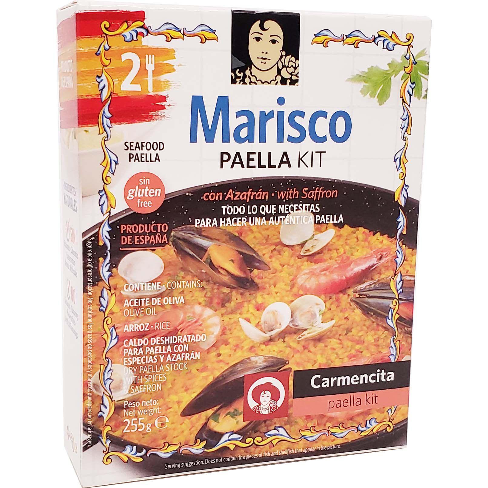 Kit Marisco Paella Carmencita - 255g -