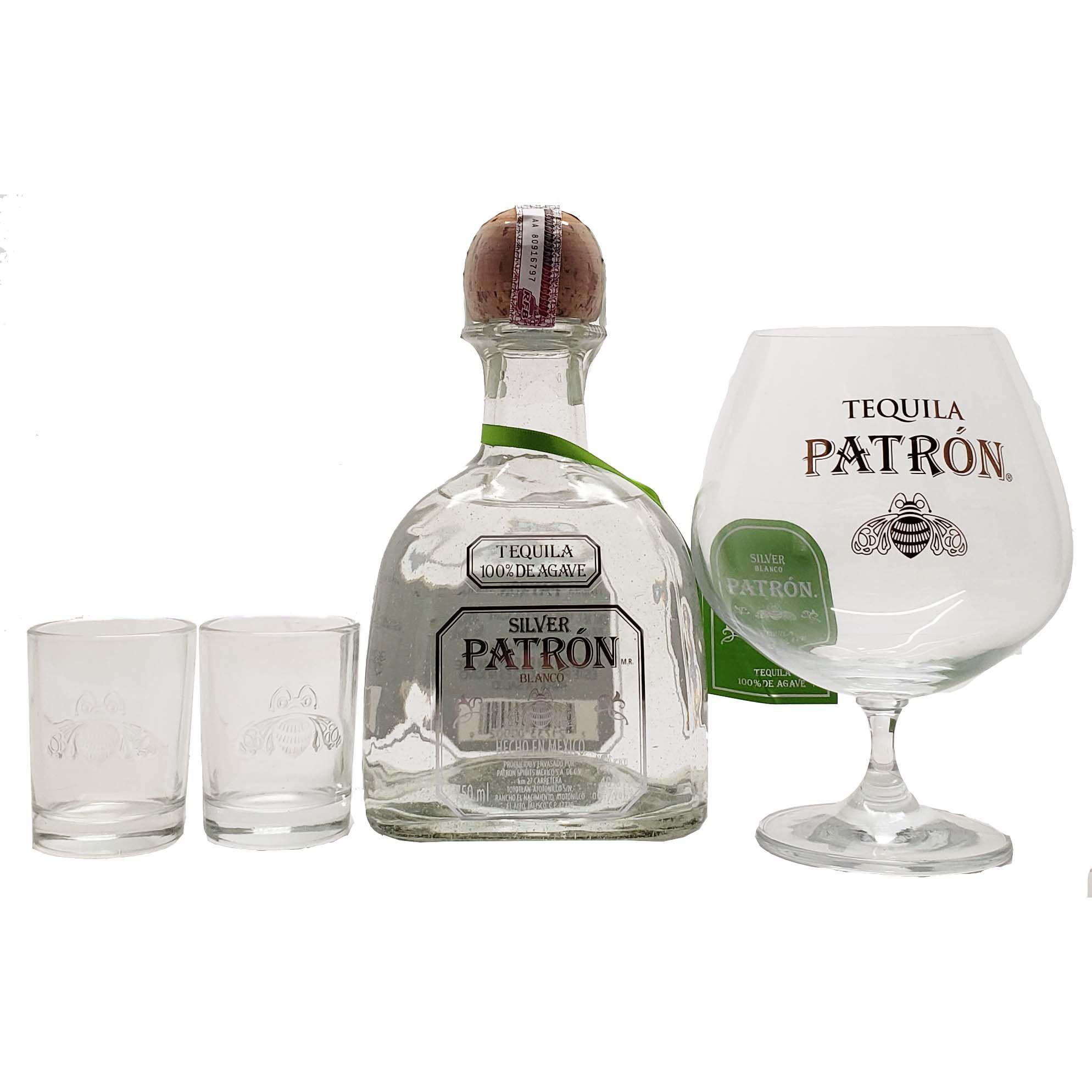Kit Tequila Patrón Silver