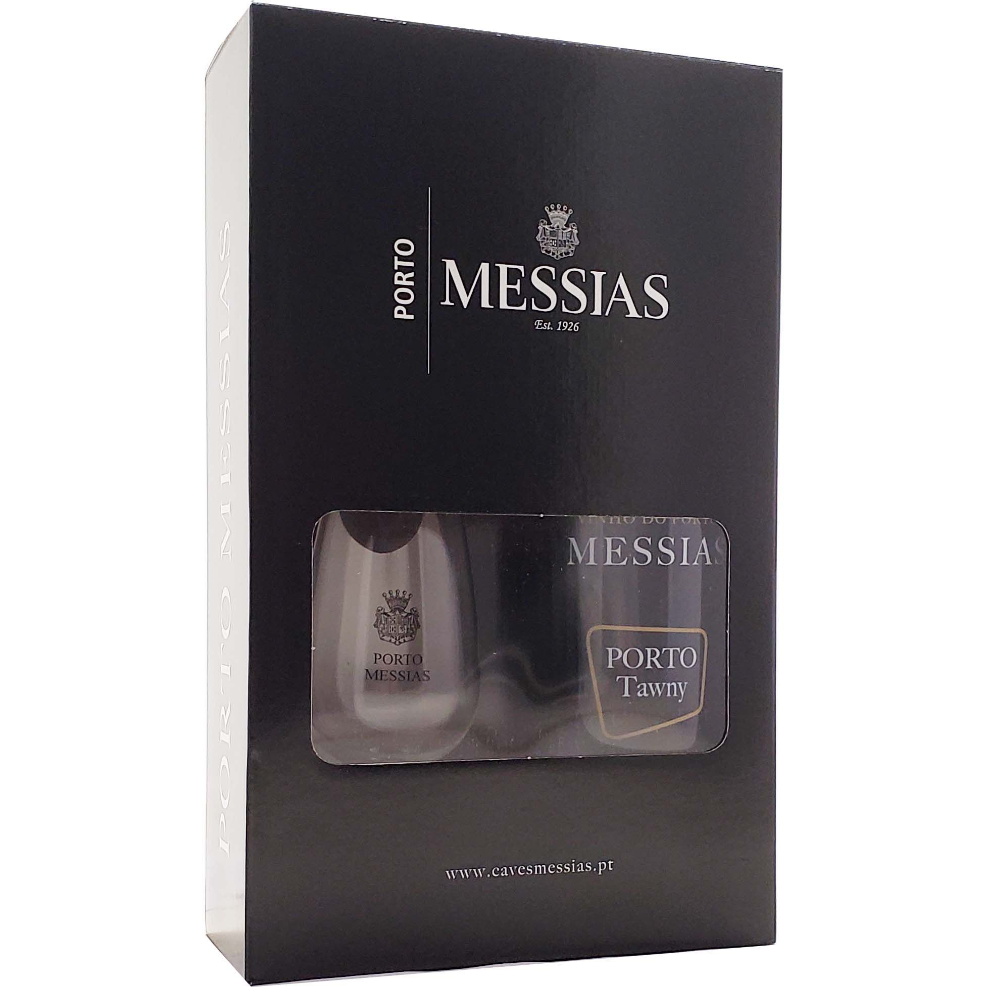 Kit Vinho do Porto Messias Tawny  750ml +  1 Taça