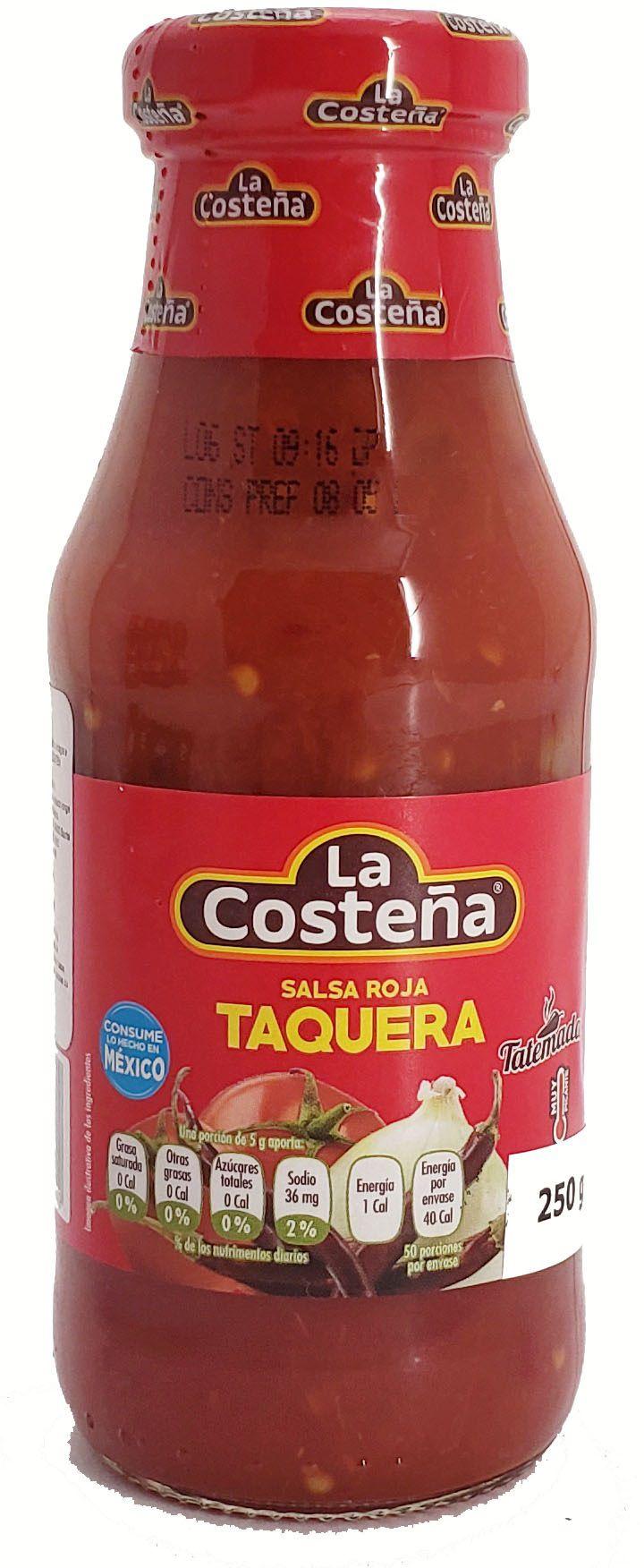 La Costena Salsa Taquera - 250g -