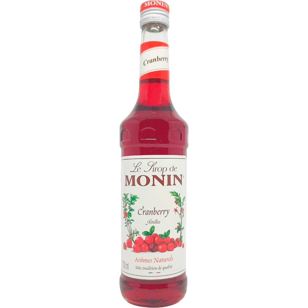 Le Sirop de Monin Cranberry - 700ml -