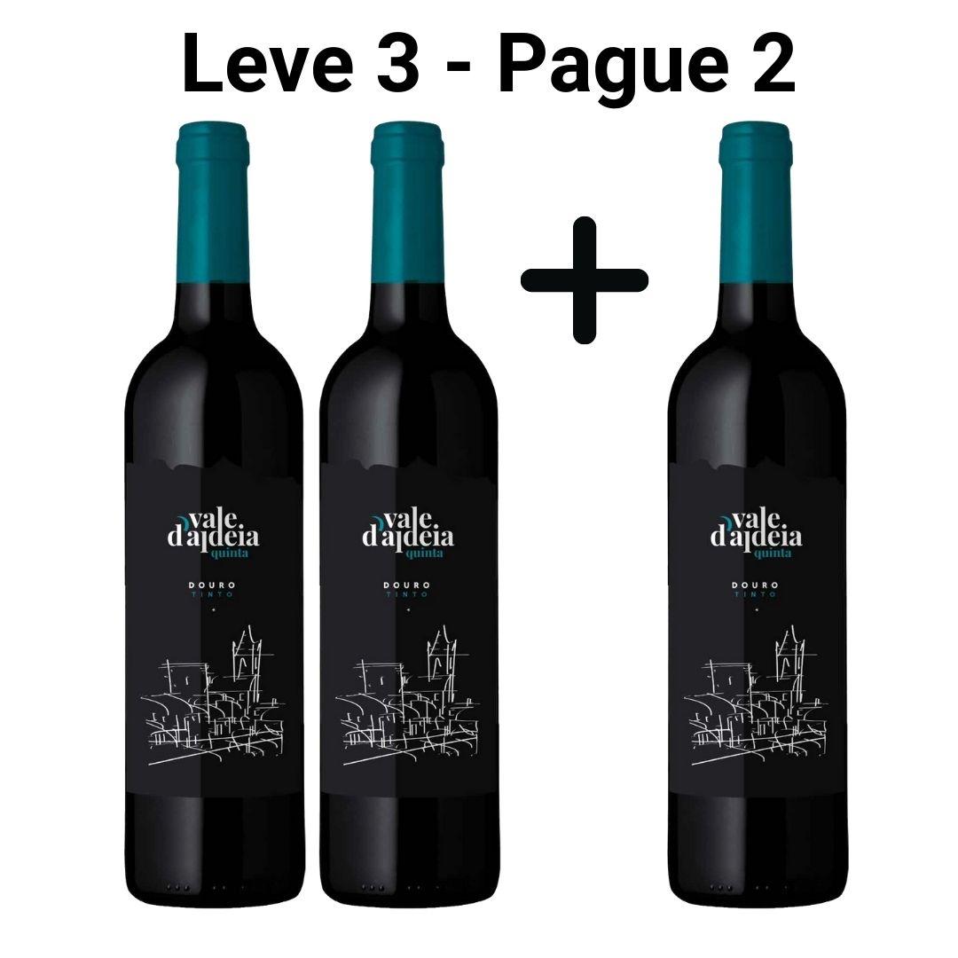 Leve 3 - Pague 2 | Vinho Tinto Quinta Vale d'Aldeia - 750ml -