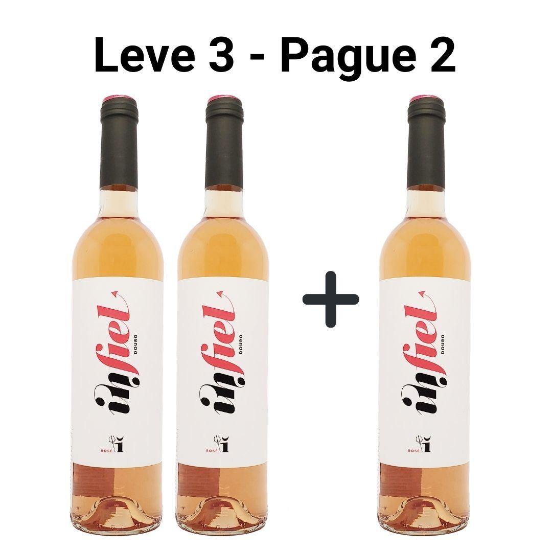 Leve 3 - Pague 2   Vinhos Rosé Infiel Quinta Vale D´Aldeia - 750ml -