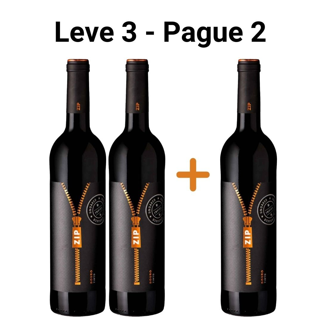Leve 3 - Pague 2 | Zip Unoaked - 750ml -