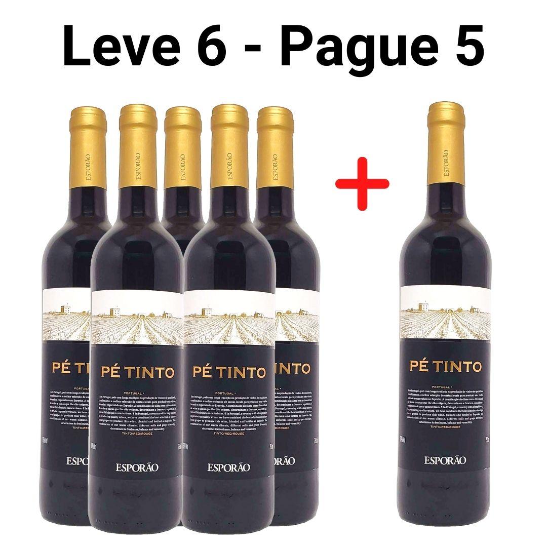 Leve 6 - Pague 5 |Vinho Pé Tinto  Esporão - 750ml -