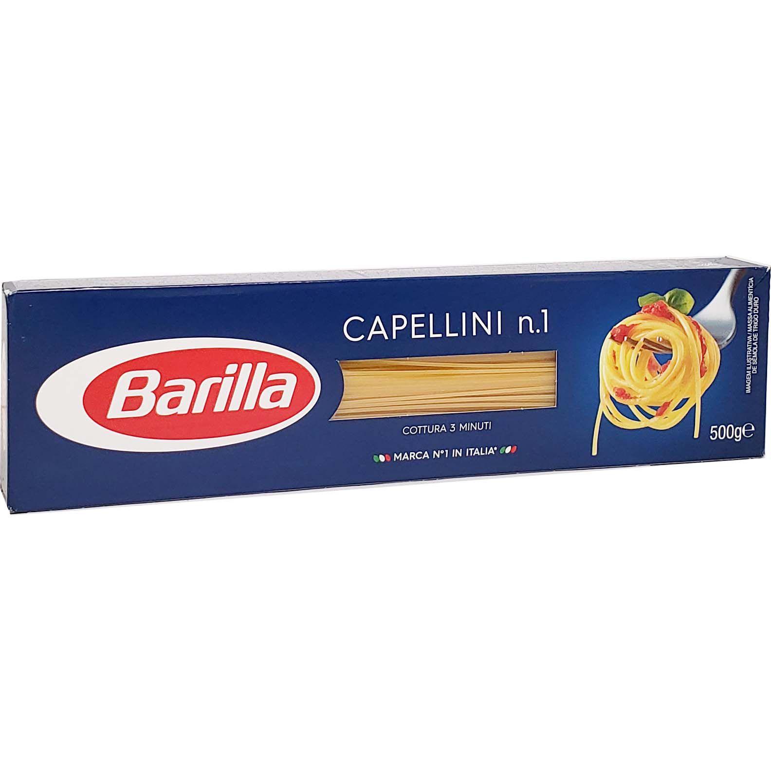 Macarrão Capellini n.1 Barilla - 500g -