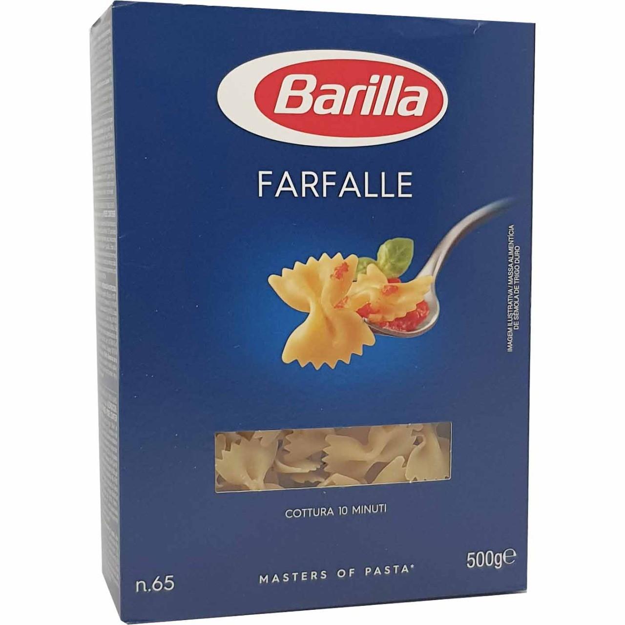 Macarrão Farfalle Barilla - 500g -