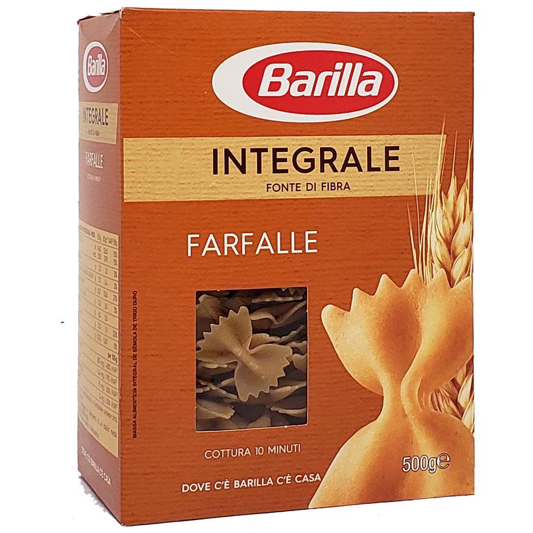 Macarrão Farfalle Integrale Barilla - 500g -