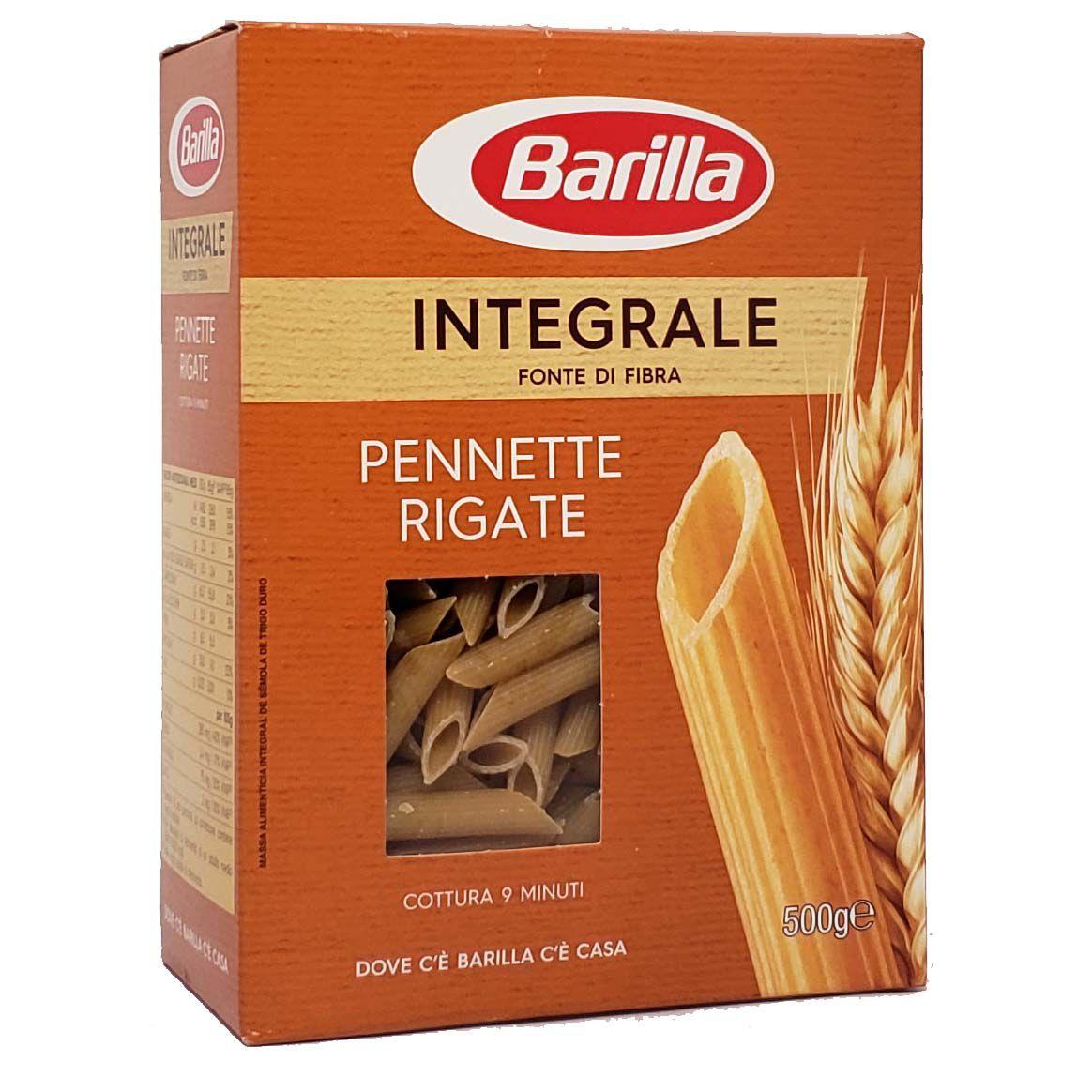 Macarrão Pennette Rigate Integrale Barilla - 500g -