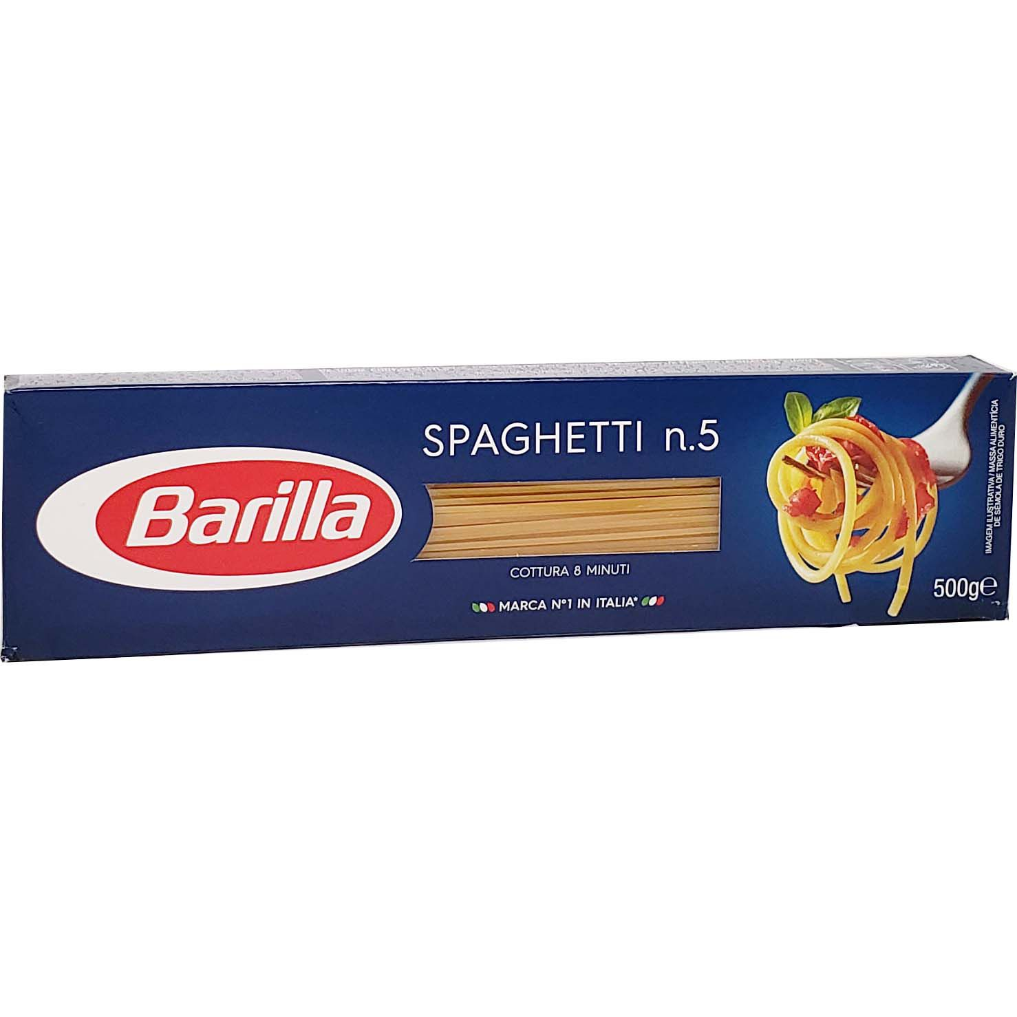 Macarrão Spaghetti n.5 Barilla - 500g -