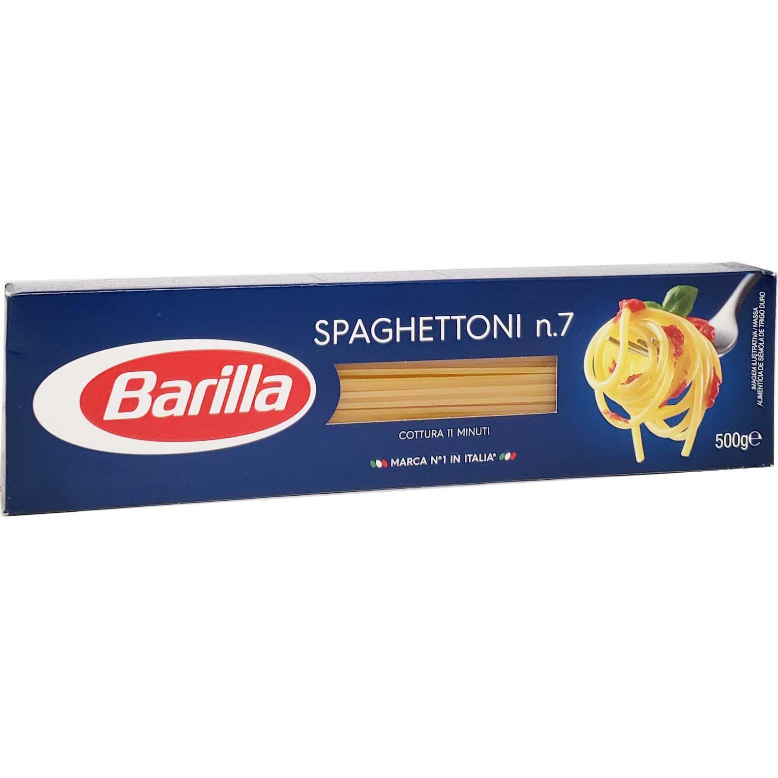 Macarrão Spaghettoni n.7 Barilla - 500g -