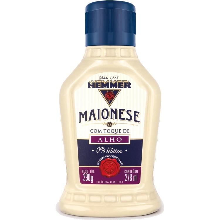 MAIONESE COM TOQUE DE ALHO HEMMER  - 290G -