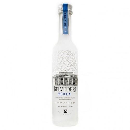 Miniatura Vodka 5cl Belvedere