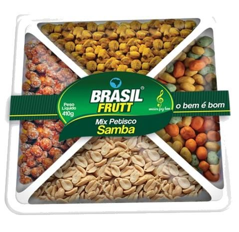 Mix Petisco Brasil Frutt - Samba - 410g