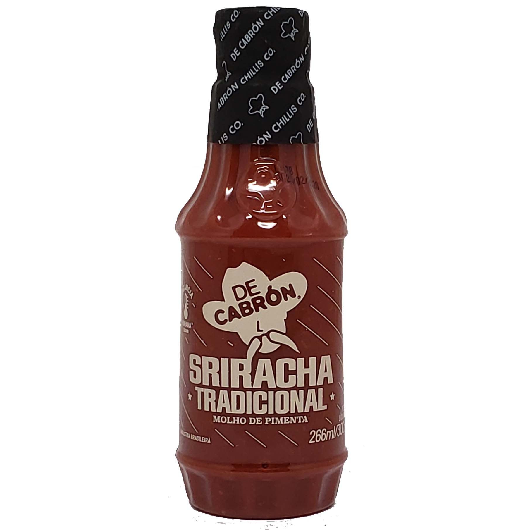 Molho de Pimenta Sriracha Tradicional De Cabrón - 300g -