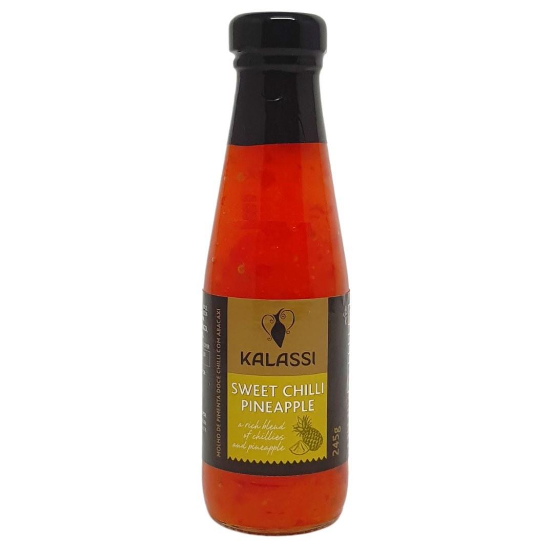 Molho de Pimenta Sweet Chilli Pineapple Kalassi - 245g -