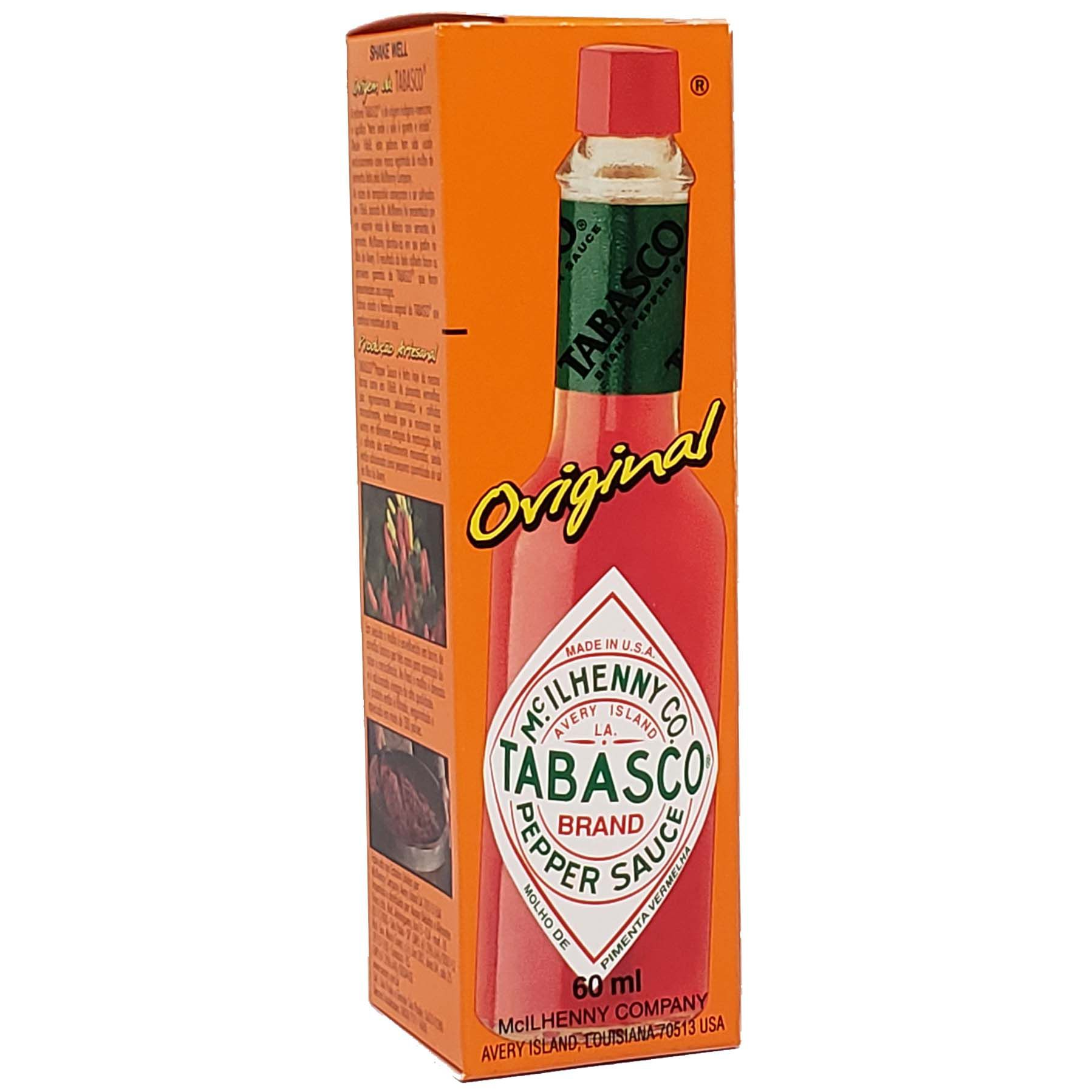 Molho de Pimenta Tabasco Red Pepper Sauce - 60ml -