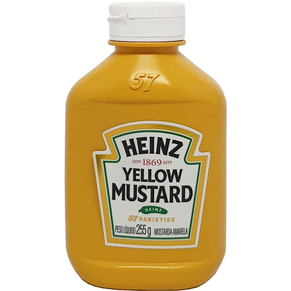 Mostarda Amarela Heinz - 255g -