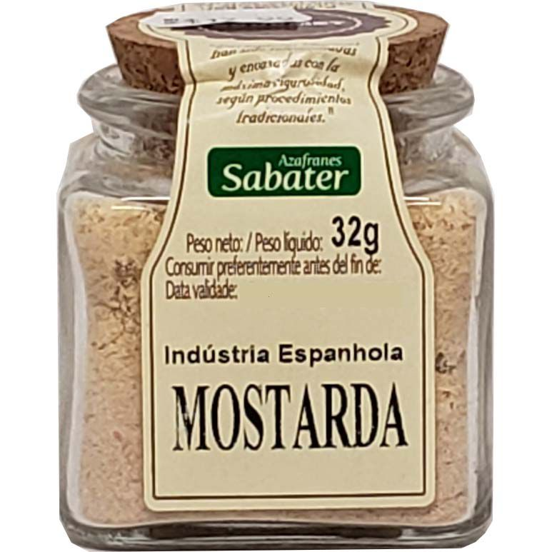 Mostarda Em Pó Azafranes Sabater - 32g -