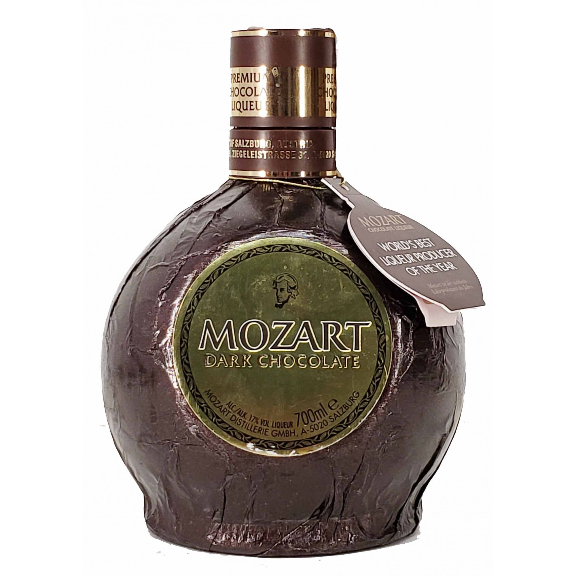 Mozart Dark Chocolate Liqueur - 700ml -