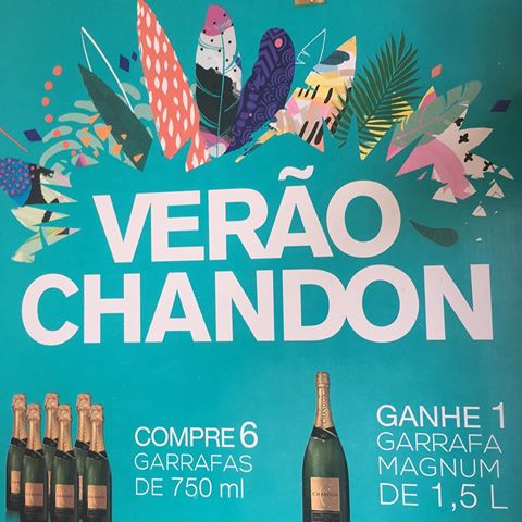 Espumante Chandon Reserve Brut - Pack com 6 garrafas 750ml + 1 Magnum 1500ml - Verão Chandon