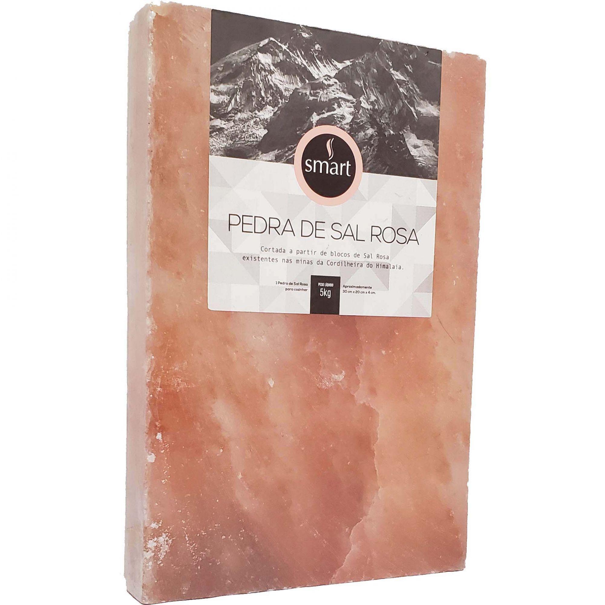 Pedra de Sal Rosa Himalaia - Smart - 5kg