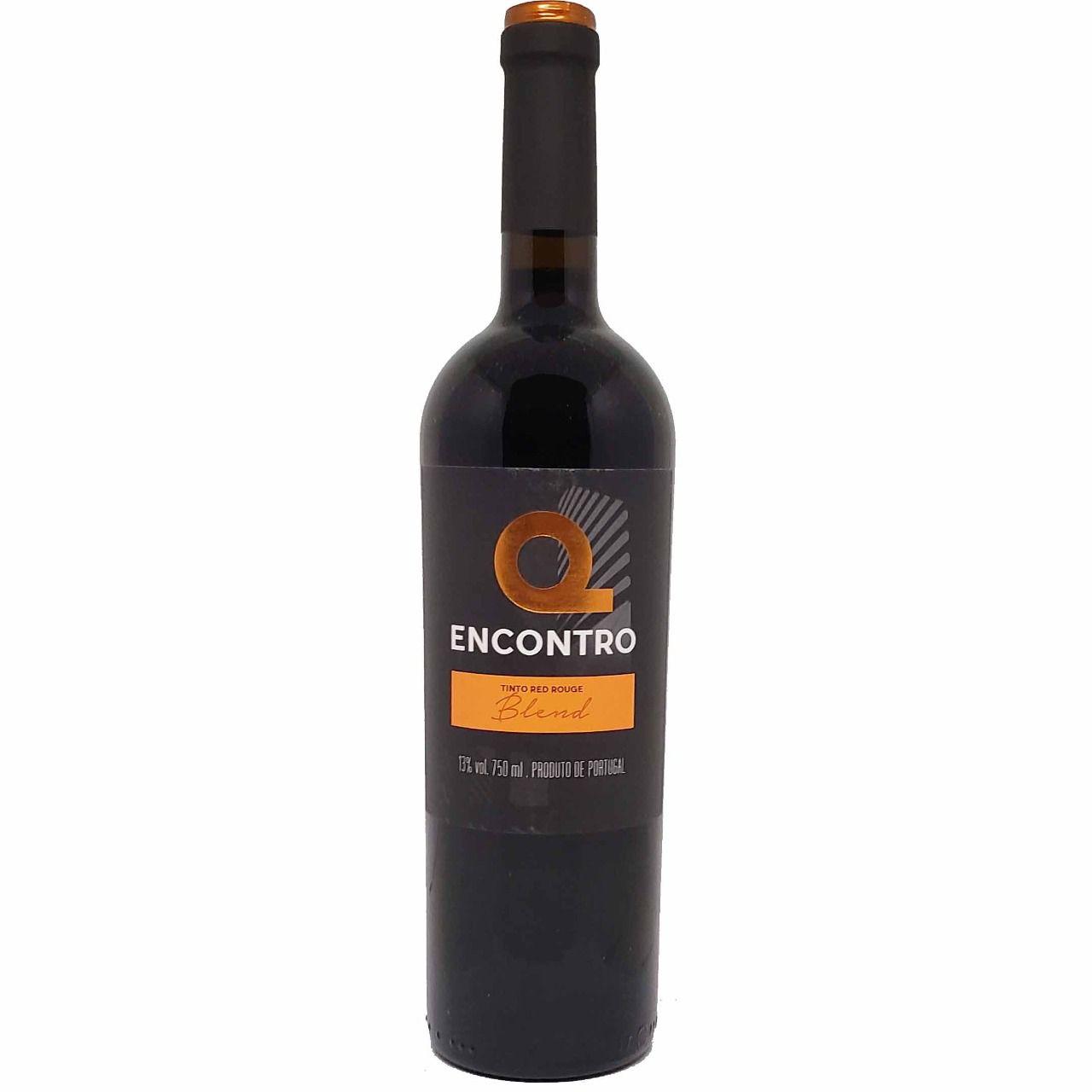 Vinho Tinto Q Encontro Blend - 750ml -