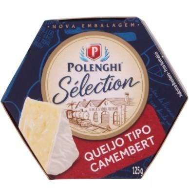 Queijo Camembert Polenghi Sélection 125g