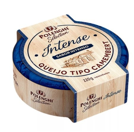 Queijo Tipo Camembert Polenghi Sélection Intense 220g