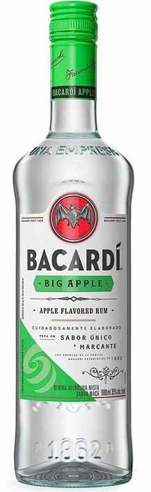 Rum Bacardí Big Apple - 980ml -