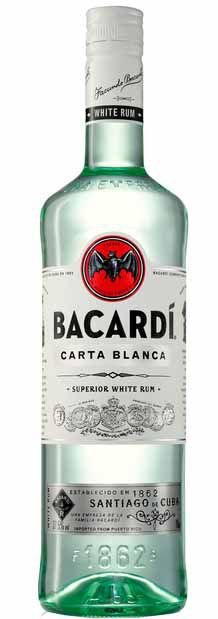 Rum BacardÍ Carta Blanca - 980ml -