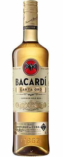 Rum Bacardí Carta Ouro - 980ml -