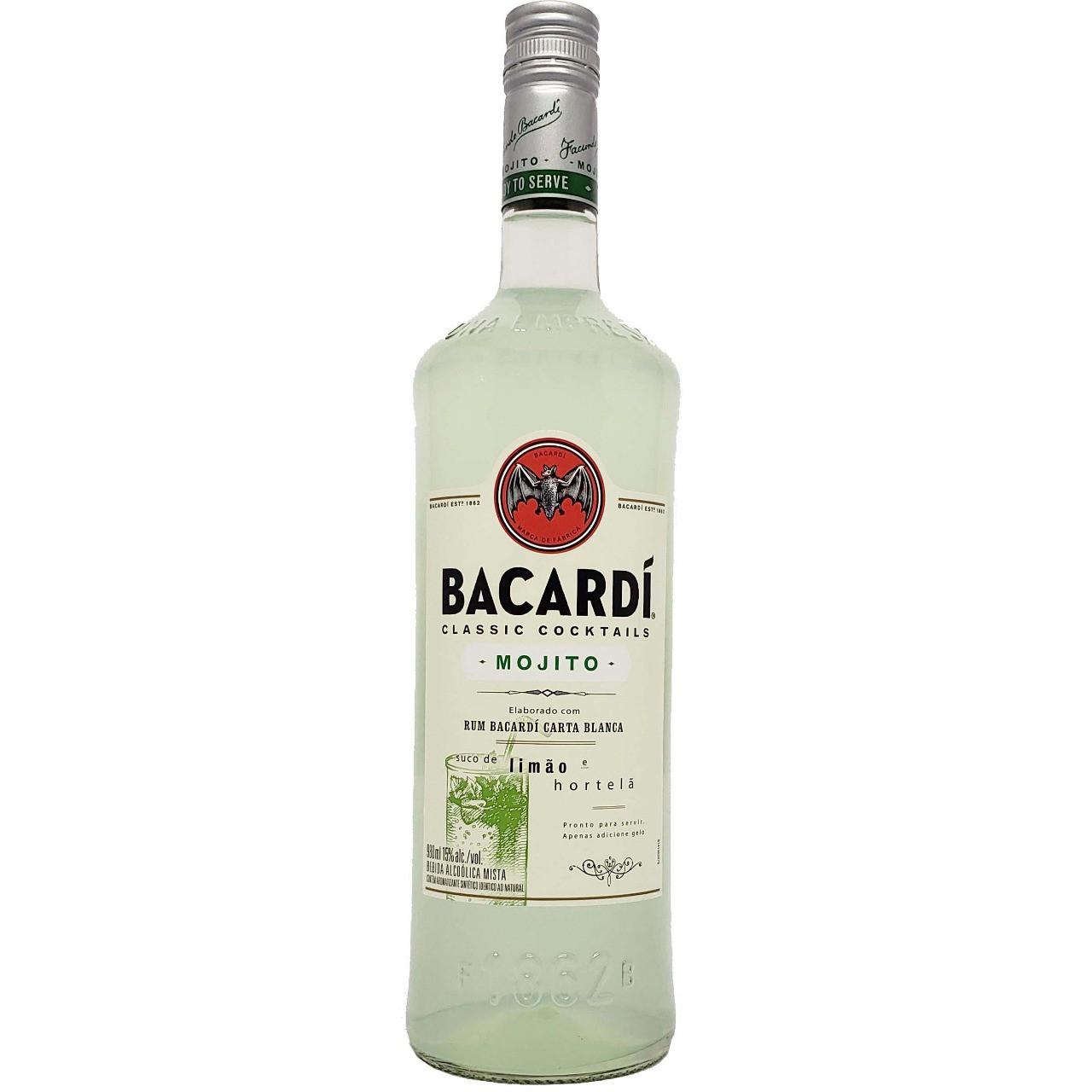 Rum Bacardí Mojito - 980ml -
