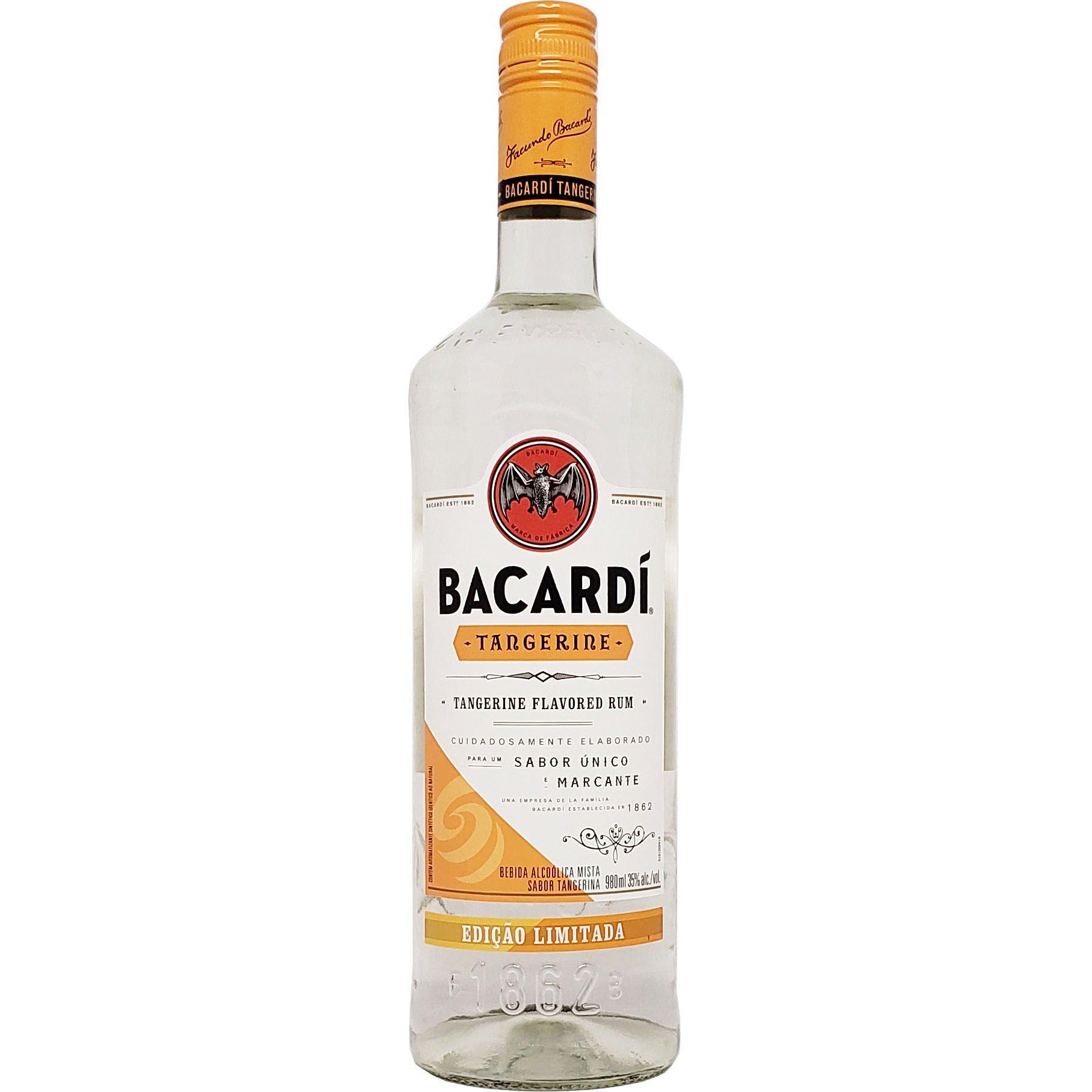 Rum Bacardí Tangerine - 980ml -