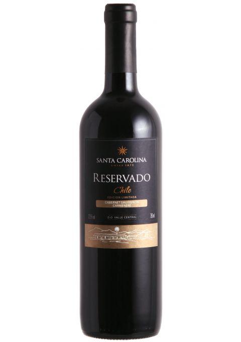 Vinho Tinto Reservado Cabernet Sauvignon Carménère Santa Carolina  - 750ml -