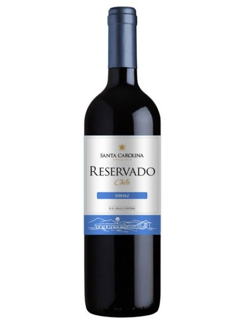 Vinho Tinto Santa Carolina Reservado Shiraz - 750ml -