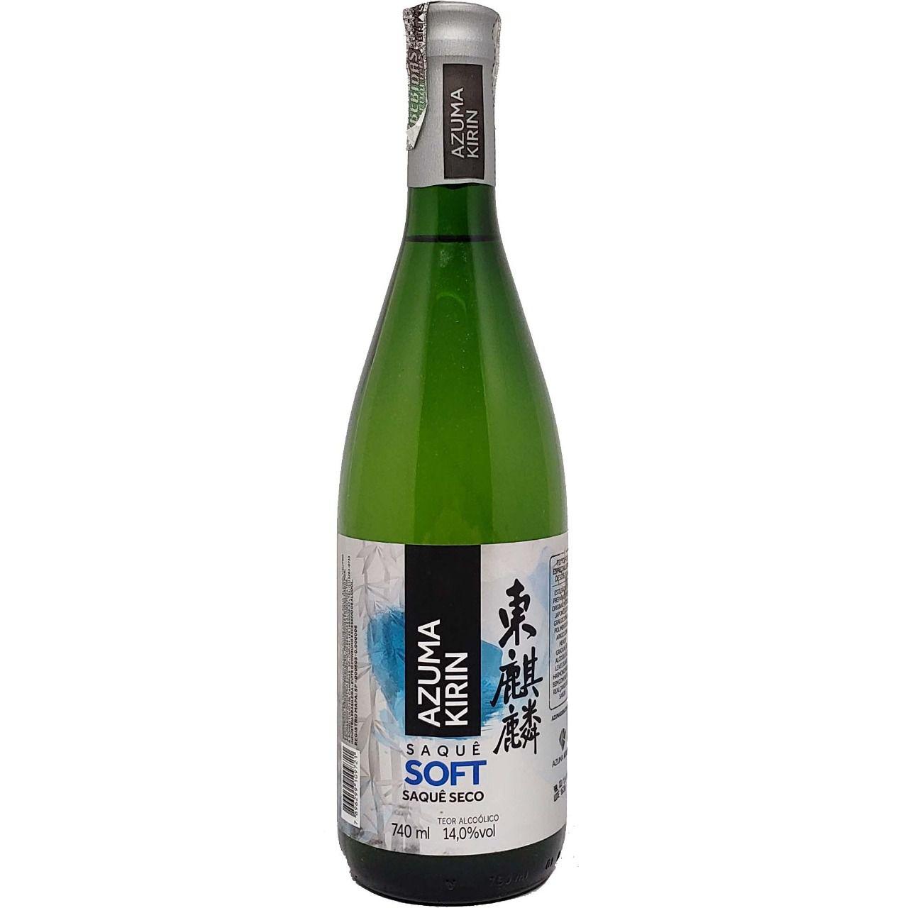 Saquê Soft Seco Azuma Kirin - 740ml -