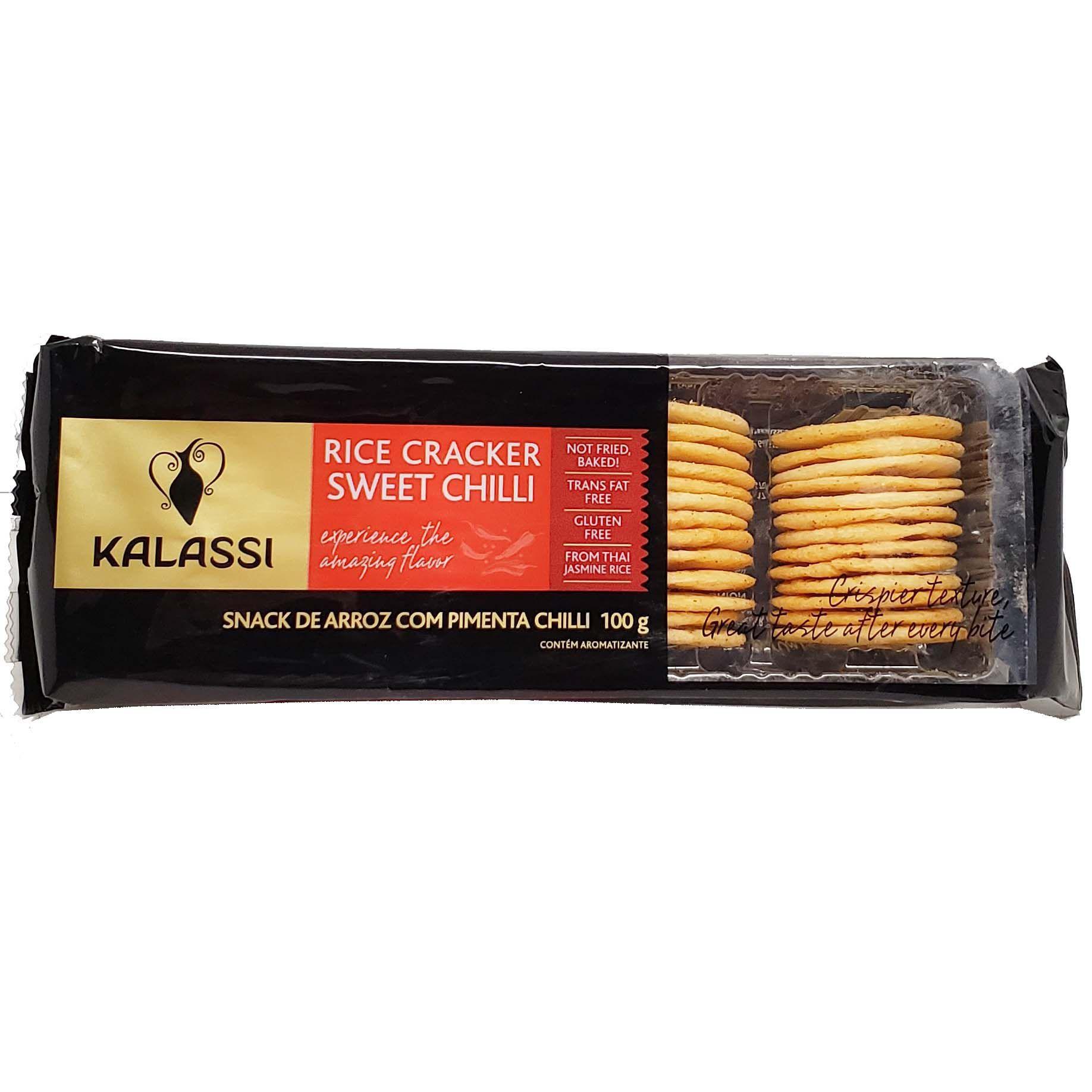 Snack De Arroz Sabor Pimenta Chilli Kalassi - 100g -