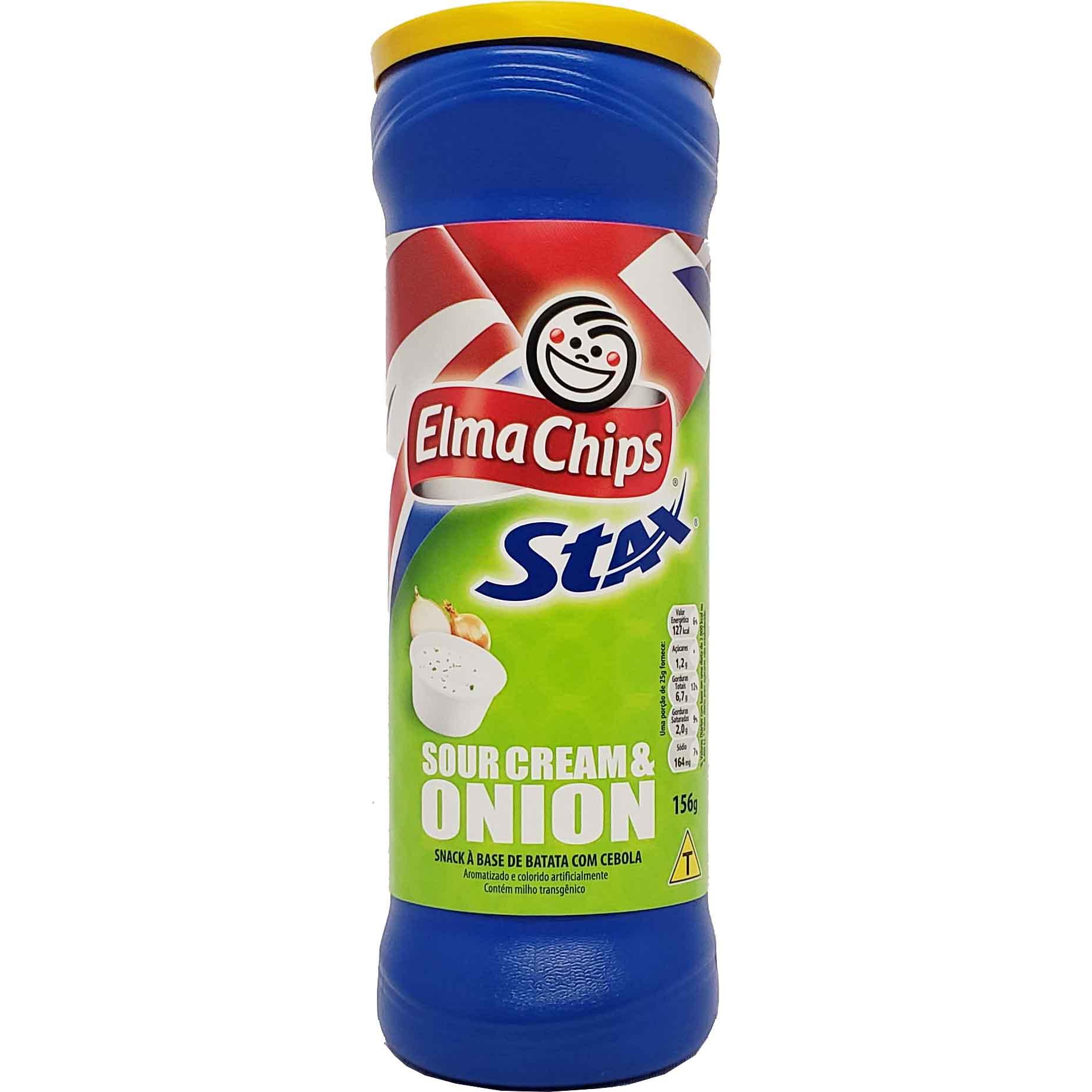 Snack Stax Sour Cream & Onion Elma Chips - 156g -