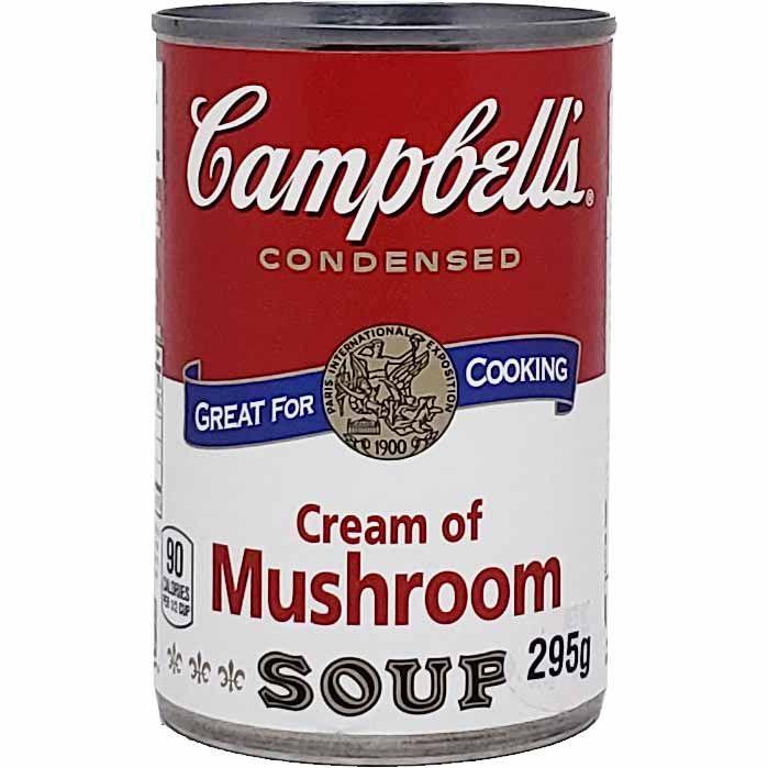 Sopa Creme de Cogumelo Concentrada Campbell's - 295g -