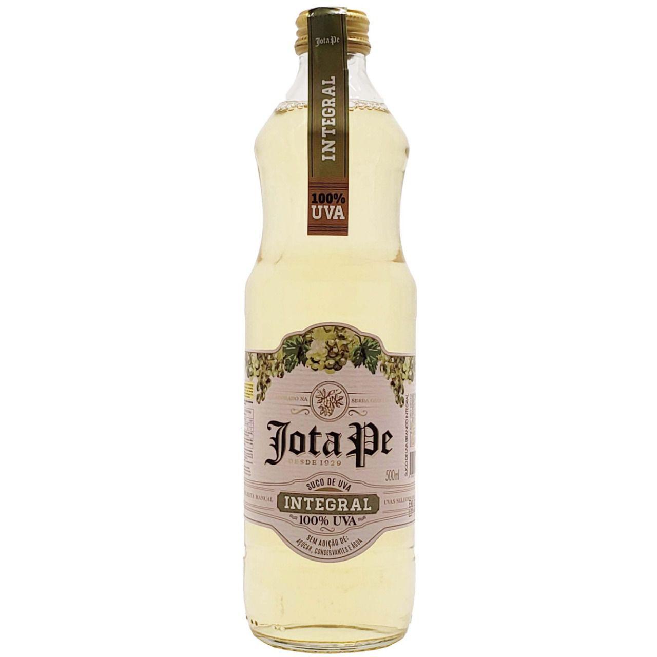Suco de Uva Branco 100% Integral Jota Pe - 500ml -